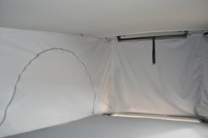 Aislante termico techo elevable furgo