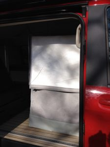 ducha furgo portatil