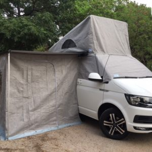 Cerramiento toldo lateral VW California