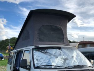 canvas vw t4 pop top